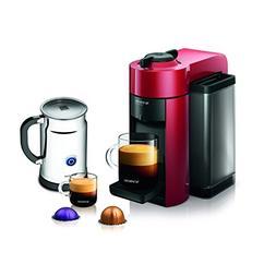 Nespresso A+GCC1-US-RE-NE VertuoLine Evoluo Coffee & Espress