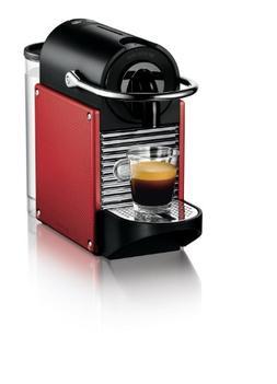Nespresso Pixie D60 Espresso Machines, Brick Red