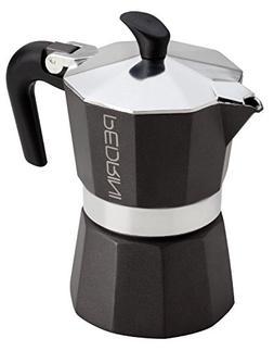 """Pedrini: """"Aroma Nero"""" Coffee Maker 2-Cups BLACK"""