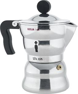 "Alessi AAM33/3 ""Moka"" Stove Top Espresso 3 Cup Coffee Maker"
