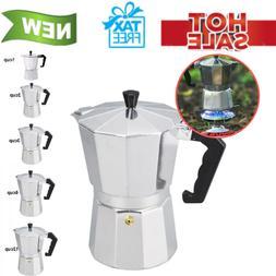 Aluminium Latte Mocha Coffee Pot Stove Espresso Maker Tool f