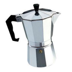 Aluminium Stovetop Espresso Moka Cappuccino Maker Tea Pot Co