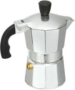 Imusa Aluminum Espresso Stovetop 1 Cup Coffee Maker Cool Tou