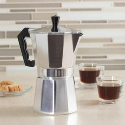 Aluminum Stovetop Espresso Coffee Maker Latte Moka Pot Perco