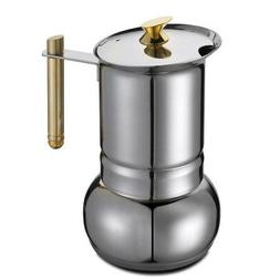 GAT Amore - Stove Top Espresso Coffee Maker - Stainless Stee