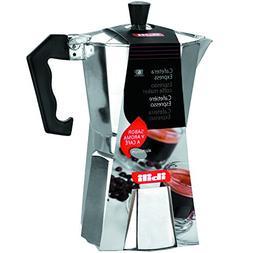 Ibili Bahia Aluminium Espresso Coffee Maker Cafetiere 3 Cup,