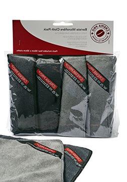 CREMA PRO Barista Micro Cloth 4 Pack - Make The Perfect Coff
