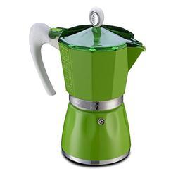 GAT Bella - Stove Top Espresso Coffee Maker - Ergonomic Hand