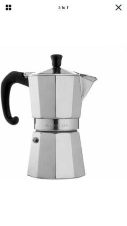 Bellemain Stovetop Espresso Maker Moka Pot New-Open Box