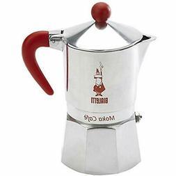 Bialetti, 06786, Moka Cafe 3 Cup, Stove Top Espresso Maker,