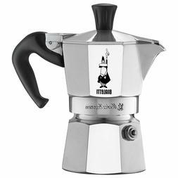 Bialetti 3 Cup Moka Express Stovetop Espresso Coffee Maker P
