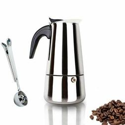 Bialetti Venus 2 Cup Stainless Steel Espresso Maker