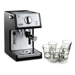 Delonghi Black 15 Bar Pump Combination Espresso and Cappucci