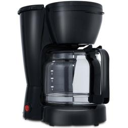 Black Coffee Maker 900 W 10-Cup Programmable With Glass Cara