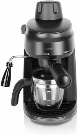 Black + Decker BXCM0401IN 4-Cup Espresso & Cappuccino Coffee