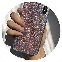 Bling Glitter Crystal Sequins Phone Case for Huawei P Smart