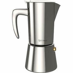 BonVIVO Stovetop Espresso & Moka Pots Intenca Maker, Italian