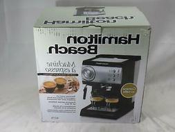 Brand New Hamilton Beach 40715 Machine a Espresso Maker No-f
