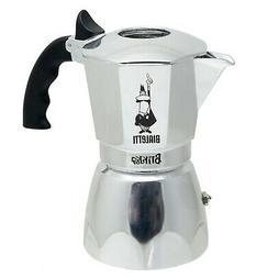 Brand New Bialetti 6988 Brikka Stovetop Espresso Maker, 4-Cu