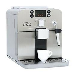 Gaggia Brera Super Automatic Espresso Machine in Silver. Pan