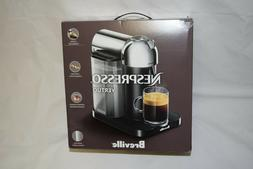 Breville Nespresso Vertuo Coffee Espresso Machine Chrome NEW