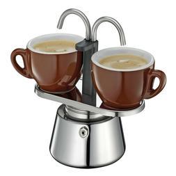 Cilio Caffettiera 2 Cup Induction Stovetop Espresso Maker