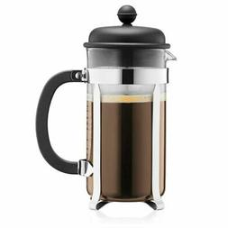 Bodum Caffettiera Coffee Maker 8 Cup 1.0 Litre 34Oz Black Es