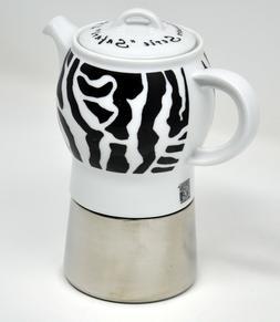 ANCAP Carina Safari 4 Cup Stovetop Espresso Coffee Maker