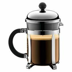 Bodum Chambord Coffee Maker 4 Cup 0.5 Litre 17Oz Shiny Espre