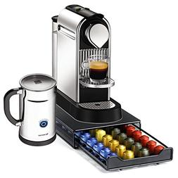 Nespresso Citiz C111 Chrome Single Serve Espresso Machine an