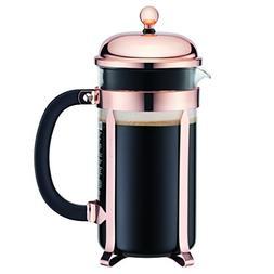 Bodum Classic Chambord Copper 8 Cup French Press Coffee Make