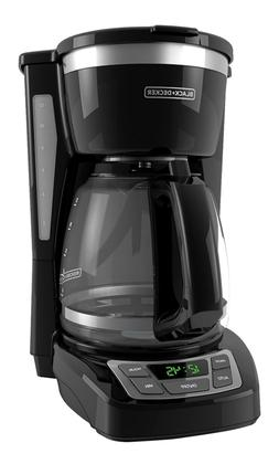BLACK+DECKER CM1160B 12 Cup Programmable Coffee Maker, Digit