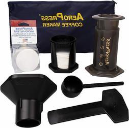 AeroPress Coffee and Espresso Maker with Nylon Tote Bag