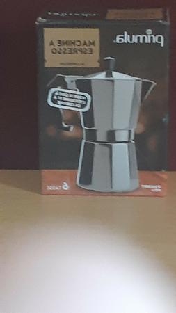 Primula Coffee Espresso Maker Aluminum Stovetop Moka Mocha P