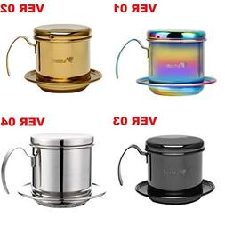 LQT Ltd Coffee Filter Press, Stainless Steel Vietnamese Coff