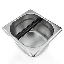 coffee knock stainless steel espresso