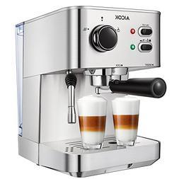 Espresso Machine Aicok, Cappuccino maker, Latte Coffee Maker