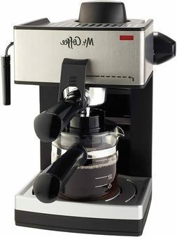 Coffee Maker Programmabl Mr.Coffee 4-Cup Steam Espresso Syst
