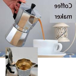 Coffee Maker Stainless Steel Moka Espresso Coffeemake Machin