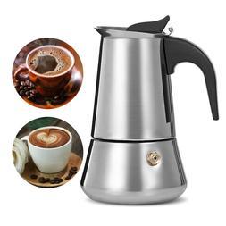 Coffee Moka Pot Moka Coffee Pot Espresso Maker Stove Top Sta