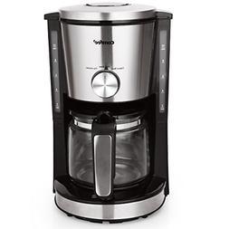 Comfee 10-Cup Coffee Maker, Eletric Coffee Machine, Strength