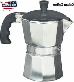 Cuban Coffee Maker Stove Top Italian Espresso Stovetop Moka
