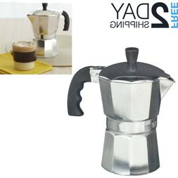 Cuban Coffee Maker Stove Top Italian Espresso Coffeemaker Pe