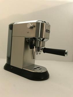 DeLonghi America EC685M Dedica Deluxe Espresso Maker, Silver