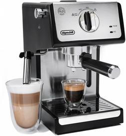 delonghi bar espresso machine milk steam frother