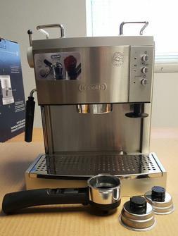 DeLonghi EC702 15 Bar Pump driven Espresso Latte and Cappucc