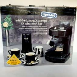 Delonghi Espresso & Cappuccino Machine Maker, Coffee Grinder