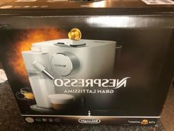 DeLonghi Nespresso Gran Lattissma Espresso Coffee Maker - Wh