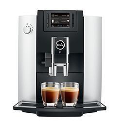 Jura E6 Automatic Coffee Center 15070, Platinum
