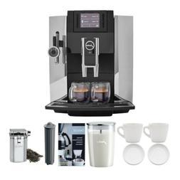 Jura E8 Automatic Coffee and Espresso Maker  with Milk Conta